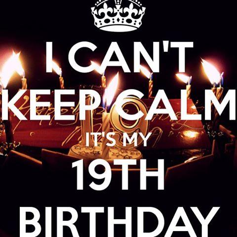 Поздравление с днем рождения в 19 лет 47