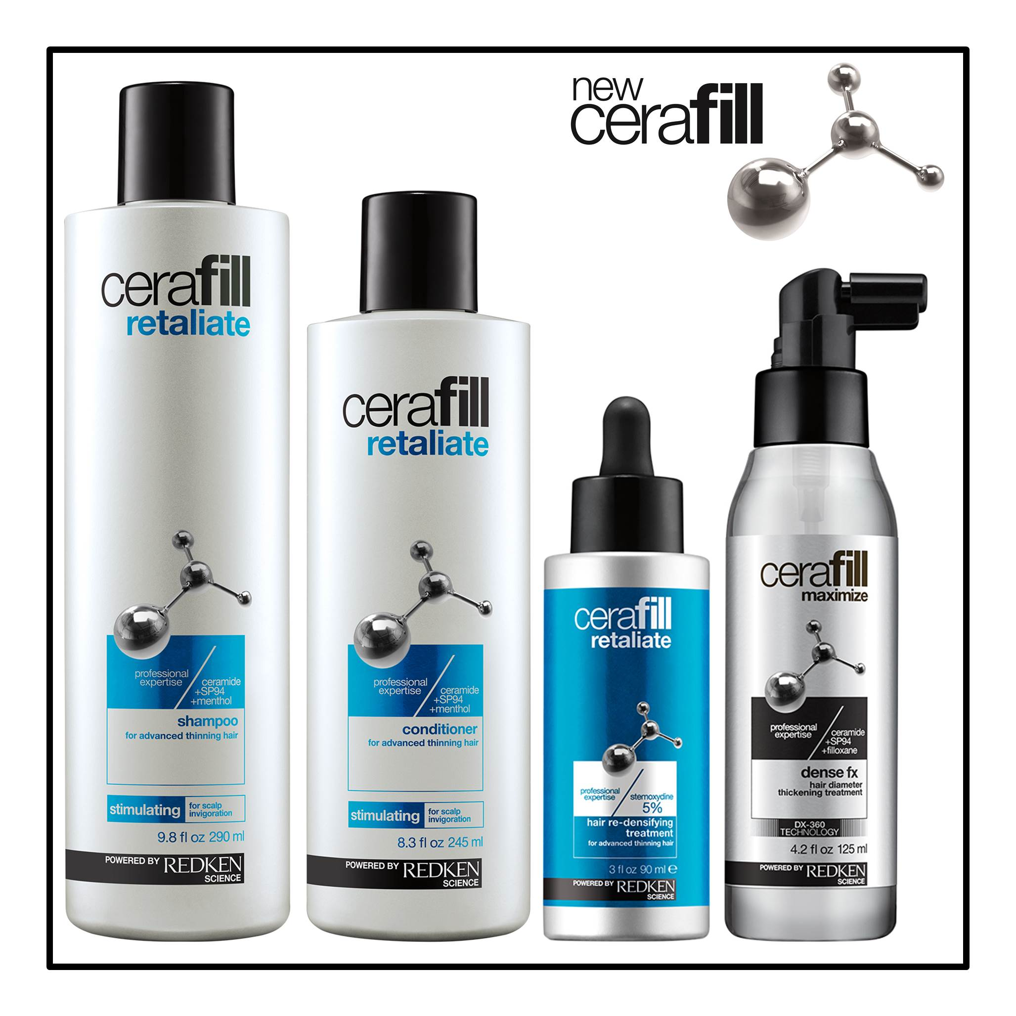 Musette Brenna Paterson writes about Redken Cerafill & the battle against thinning hair.